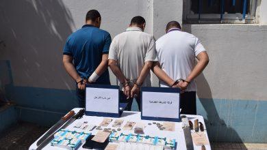 صورة الطارف / توقيف عصابة إجرامية بينها شقيقين و حجز 378 قرص مهلوس بالذرعان