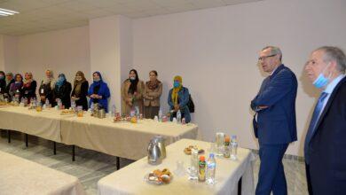 Photo of وزير الإتصال يترأس حفلا على شرف النساء العاملات بالوزارة بمناسبة اليوم العالمي للمرأة المصادف ل 08 مارس من كل سنة.