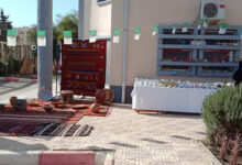 Photo of ام البواقي/ مكتبة المطالعة  العمومية ببلدية بريش، تنظم معرضا خاصا بالصناعات والالبسة  التقليدية  في يوم عيد المرآة.