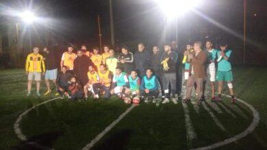 صورة الطارف / جمعية الجيل الواعد لمدينة الطارف تقيم دورة خيرية في كرة القدم .