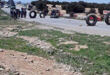 Photo of باتنة / محتجون يغلقون الطريق الوطني رقم 31 بإقليم قرية ذراع عيسى بتازولت