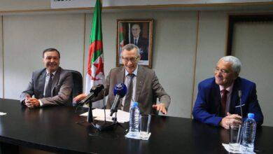 صورة بلحيمر ينصب شعبان لوناكل مديرا عاما للتلفزيون الجزائري