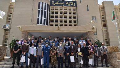صورة بسكرة / السلطات الولائية تكرم الاسرة الاعلامية المحلية في اليوم العالمي لحرية الصحافة
