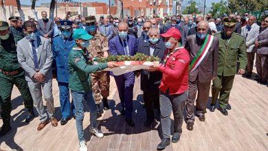 صورة باتنة / الاحتفال بالذكرى الثانية لليوم الوطني للذاكرة 08 ماي 1945