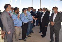 صورة بسكرة / السلطات الولائية تشرف على الاحتفالات المخلدة لاحداث 8 ماي
