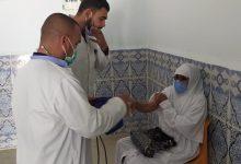 صورة اولاد جلال / اقبال المواطنين على عملية التلقيح بمؤسسة الصحة الجوارية بالدوسن