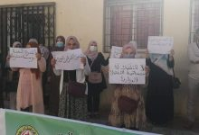 صورة بسكرة / وقفة احتجاجية لعمال قطاع التضامن تنديدا بكارثية الوضع بمؤسسة الطفولة المسعفة