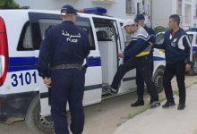 صورة قالمة / عناصر الأمن الحضري الخارجي ببلخير توقف المتورط قي قضية سرقة محل مجوهرات