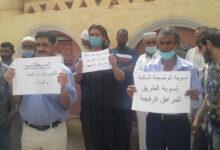 صورة غرداية / مطالبة سكان البيات حي بن اسمارة بضروريات الحياة