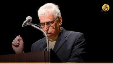 صورة رحيل الشاعر العراقي الكبير                                سعدي يوسف