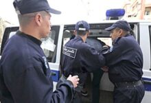 صورة الأمن الحضري الخامس توقف شخص يقوم بترويج المخدرات بمحيط المؤسسات التربوية