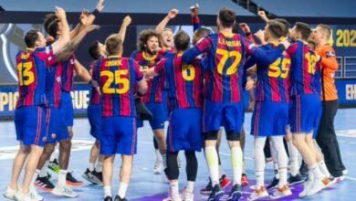 صورة دوري أبطال أوروبا لكرة اليد/ برشلونة بطلا للمرة العاشرة