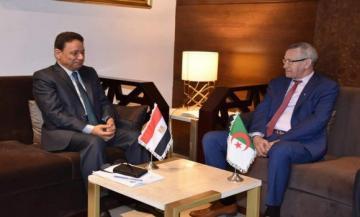 صورة الجزائر-مصر: الاتفاق على التنسيق الإعلامي في القضايا ذات الاهتمام المشترك