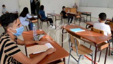 صورة باتنة / لليوم الثاني على التوالي تتواصل امتحانات شهادة التعليم المتوسط بباتنة