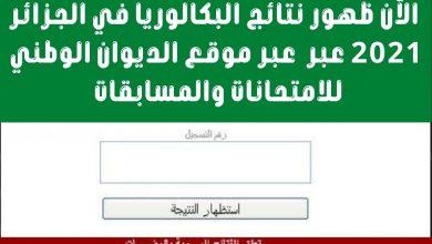 صورة جريدة الشرق اليوم  تقدم خدماتها للكشف عن نتائج شهادة البكالوريا