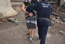 صورة ام البواقي/ امن ام البواقي بالتنسيق مع شرطة عين مليلة يقومان  بعمليات شرطية واسعة النطاق باحياء وشوارع مدينة عين مليلة.