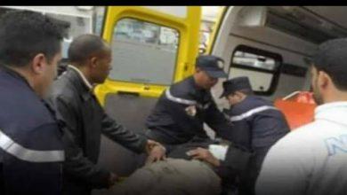 صورة ام البواقي/ حادث مرور مميت على الطريق الوطني رقم 102ببلدية قصر الصبيحي، يخلف 4 ضحايا.