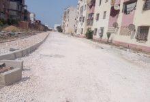 صورة الطارف / رئيس دائرة بن مهيدي يتفقد مشروع الطريق بحي 200 مسكن