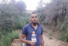 صورة الطارف / معاناة مواطن بسبب ممر لفك العزلة ببلدية عين الكرمة.