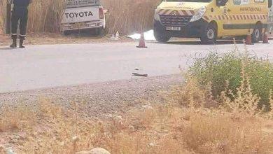 صورة باتنة / مقتل أم على يد زوجها على قارعة الطريق ببلدية زانة البيضاء بباتنة .