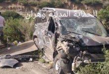 صورة وهران /وفاة شخصين جراء إصطدام بين السيارة والشاحنة