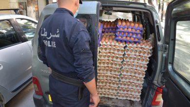 صورة قسنطينة / الأمن الحضري العاشر يحجز مواد غير صالحة للاستهلاك بوسط مدينة قسنطينة