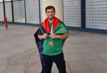 صورة وهران /بلدية وهران ترافق بطل الجيدو فتحي نورين في تجسيد مشروعه الرياضي