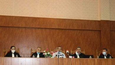 صورة تيسمسيلت /تنصيب بن علال الهواري رئيسا جديدا لمجلس قضاء تيسمسيلت