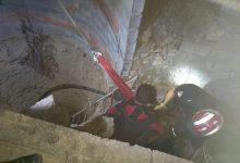 صورة عين تيموشنت/انتشال جثة شخص من بئر في سيدي ورياش