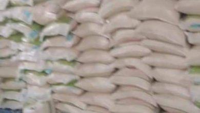 صورة عين تيموشنت/  حجز 119 قنطار من السميد  بحمام بوحجر  كانت موجهة للإستهلاك  الحيواني.