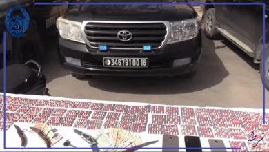 صورة سطيف/ القاء القبض على أربعة أشخاص وحجز 2500 قرص مهلوس