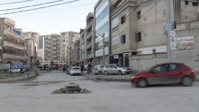 صورة قسنطينة / خطر على الراجلين و السيارات / بالوعات بدون أغطية في المدينة الجديدة علي منجلي