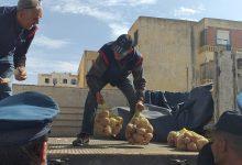 صورة ام البواقي/ مصالح التجارة بام البواقي تقوم بعملية تسويق مادة البطاطا في 11 نقطة ببع ببلديات الولاية.