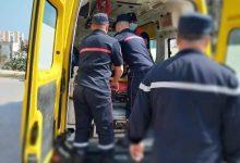 صورة قسنطينة / إسعاف 3 ضحايا من عائلة واحدة ببلدية عين أعبيد