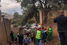 """صورة سكيكدة /ترحيل 51 عائلة بحي الواهم مصابح عمار """"لاڨار"""" كدفعة أولى."""