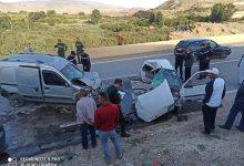 صورة المسيلة/وفاة شخصين اثر حادث مرور مميت بمنطقة بوخميسة