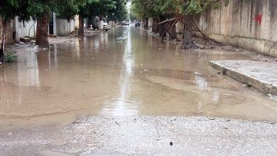 صورة الطارف / الامطار تغرق بلدية بن مهيدي و سيناريو الفيضانات يتكرر كل عام
