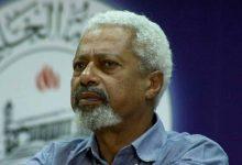 صورة جائزة نوبل للأدب 2021/   الروائي التنزاني عبد الرزاق جورنا يفوز بالجائزة