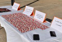 صورة قسنطينة / مصالح الدرك الوطني توقف 3 أشخاص و تحجز قرابة 12600 قرص مهلوس