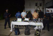 صورة الطارف / عمليات مداهمة للاماكن المشبوهة بالشط و توقيف 4 اشخاص حاولوالهجرة غير السرية