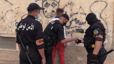 صورة سطيف / مصالح الشرطة تباغت اوكار الجريمة
