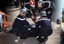 صورة باتنة / 6 جرحى إثر اصطدام بين سيارة سياحية وسيارة أجرة بإقليم بلدية لمسان بباتنة