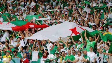 صورة السماح بعودة الجماهير خلال مباراة الجزائر وبوركينافاسو التصفوية/