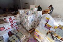 صورة باتنة / مصالح الرقابة بالتنسيق مع مصالح الدرك بقصر بلزمة يحجزون أزيد من 16 طن من المواد الغذائية منتهية الصلاحية