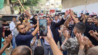 صورة غزة/أفرجت سلطات الاحتلال الإسرائيلي  ،أمس الأحد، عن الأسيرة نسرين أبو كميل، بعد انتهاء محكوميتها البالغة 6 سنوات